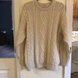 Sweater from Galway, Ireland. Size L. NEW.